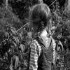 Child Black and White 1